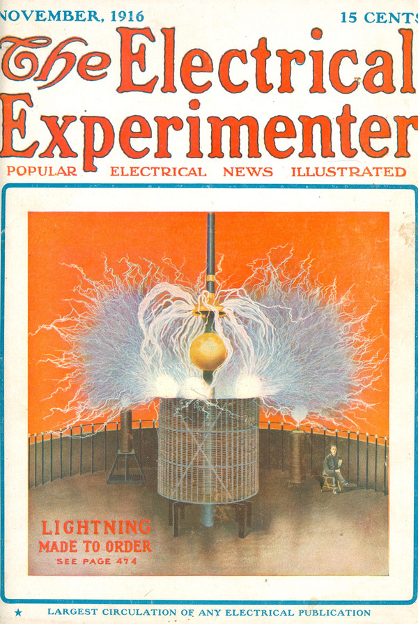 Electrical Experimenter / Lightning made to order