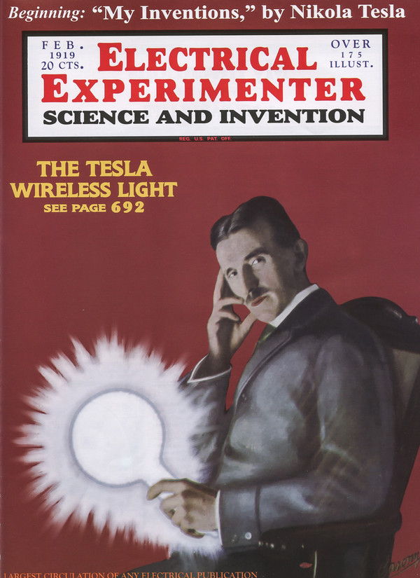 Electrical Experimenter / Wireless Light